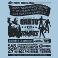Santo Vs Zombies Tshirt Design